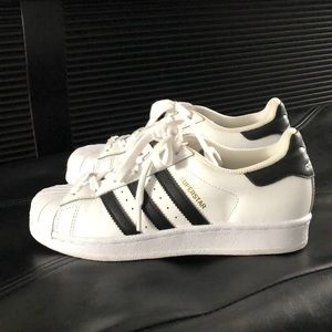 Addis's superstar sneakers